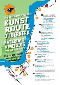 Oog Voor Kunst - Kunstroute Poster 2015 - PROEF 03
